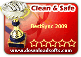 BestSync 2009 4.2.09 Clean & Safe award